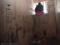 Inodoro en la Cárcel de Menores de Najayo, San Cristóbal, República Dominicana. ©miguelgomez #WorldToiletDay