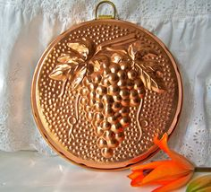 Vintage Solid Copper Kitchen Mold by cynthiasattic on Etsy, $35.00
