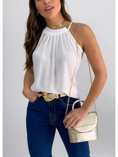 Chic Outfits, Trendy Outfits, Fashion Outfits, Cute Blouses, Blouses For Women, Indian Designer Outfits, Looks Chic, Minimal Fashion, Everyday Outfits