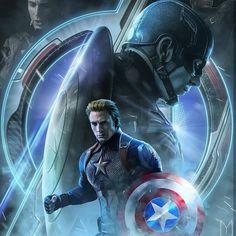 Steve Rogers/Captain America (Avengers: End Game) Avengers Humor, Marvel Avengers, Marvel Comics, Marvel News, Marvel Fan, Marvel Heroes, Captain America Comic, Captain America Wallpaper, Chris Evans Captain America