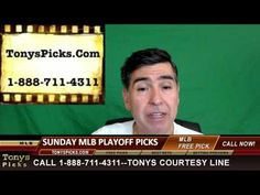 MLB Picks Predictions Betting Odds Preview Sunday 10-9-2016