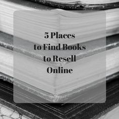 This year, I've made almost $300 selling books online. I began my foray into online book selling when I was in college and trying to sell my textbooks for more than the pennies the college bookstore offered. When I realized … Continued