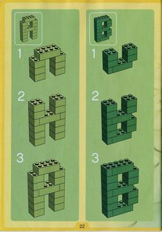 Thousands of complete step-by-step printable older LEGO® instructions for free. Here you can find step by step instructions for most LEGO® sets. Lego Activities, Art Activities For Kids, Lego Instructions, Step By Step Instructions, Lego Printable Free, Lego Challenge, Lego Craft, Lego For Kids, Lego Group