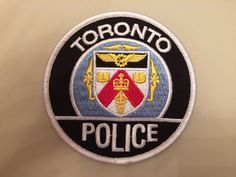 Patch Toronto Police Service Soulder Flashes Canada New Original Rarity  | eBay