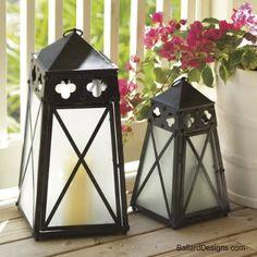 bellissima : Quatrefoil Lanterns – con il cartone delle scatole dei cereali