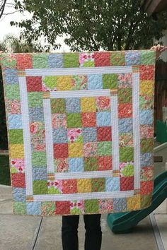 http://quiltingdigest.com/super-quick-and-easy-baby-quilt-new-moms-will-love/
