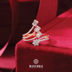 Manubhai Jewellers, Diamond Jewelry, Jewelry Collection, Engagement Rings, Jewels, Crystals, Jewellery, Blouse, Diamond Jewellery