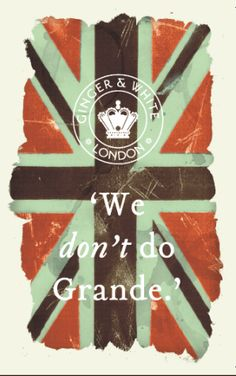we don't do grande