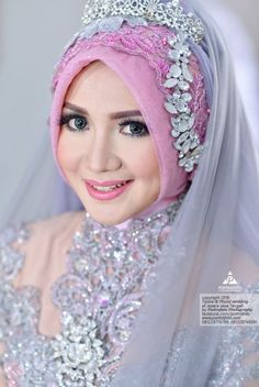 Muslim Wedding Hijab Style Dresses Foto Pengantin Muslimah