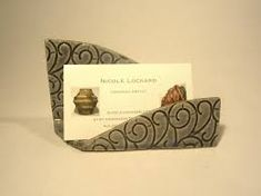 Image result for ceramic business card holders