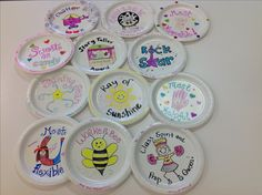 Paper Plate Awards Girls C& Paper Plates Girl Scouts Cheerleading Gifts Recognition Ideas Middle School Staff Appreciation Field Hockey & End of the year awards for my year two high school students!! They ...