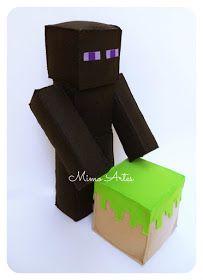 Olá pessoal, olha a turminha que está chegando por aqui,   Minecraft!       Steve       Enderman      Creeper        Zumbi             APO...