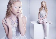 The Snow Queen by anna kubanova, via Behance