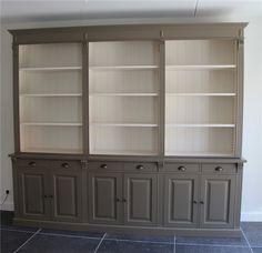 Bibliotheekkast Maatwerk - Brxdxh = 280x48/51/240cm