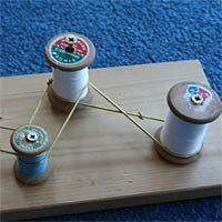 Engineering Experiments For Kids - pulleys ** This website has lots of great engineering experiments **