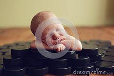 newborn hockey pictures