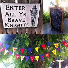 knight party 13 Show us your party Wills knights and dragons birthday