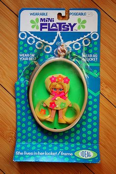 Flatsy dolls ... I loved these!! I remember this exact packaging too.