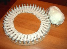 How to Make a French Knitting Loom from Cardboard (even I can do it!) :-)