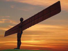 Antony Gormley - Angel of the North Newcastle, Digital Camera Magazine, Angel Of The North, Camera World, North East England, Rio Carnival, Contemporary Sculpture, Installation Art, Art Installations