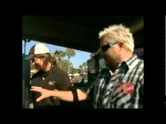Southern Soul Barbeque on Diners, Drive-Ins & Dives. Harrison & Griffin at their best. Lots of great cameos too!
