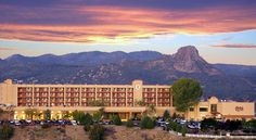 Prescott Resort & Conference Center Prescott Overlooking the town of Prescott, Arizona, this resort and spa offers stunning views of the Prescott Valley and surrounding mountains as well as an exciting casino and luxurious guestrooms.