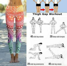 Locate a lot more details pertaining to toned legs workout Leg Gap Workout, Skinny Thigh Workouts, Leg Workout At Home, Fitness Workout For Women, Thigh Exercises, Thigh Gap Exercise, Thick Thighs Workout, Slim Legs Workout, Tight Thighs