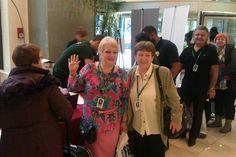 Registering at Stemtech's Convention - Eva, Vera, Veliko from Bulgaria!