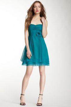 Nanette Lepore Tap-Tap Silk Dress.