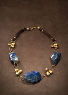Jewelry ~ Necklace Lapis Lazuli- truth, free expression, taking charge