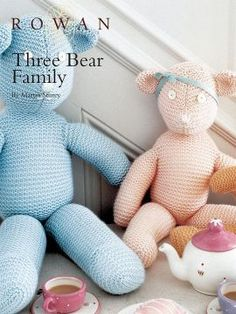 Rowan Three Bear Family