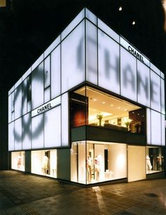 Peter Marino - Architect + Interior Designer - the Fashion Spot Retail Architecture, Architecture Design, Japan Architecture, Facade Design, House Design, Retail Facade, Window Display Retail, Facade Lighting, Luxury Store