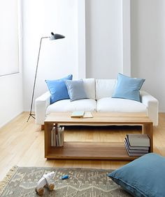 Small Space Japanese Apartment — Muji Home Design #Minimalista