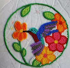 Indian Beadwork, Native Beadwork, Native Beading Patterns, Bird Patterns, Beaded Bags, Beaded Jewelry, Beaded Hat Bands, Ribbon Work, Beaded Brooch