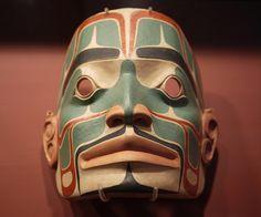 First Nation Mask, via Flickr.