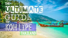 """Koh Lipe Thailand is also known as the """"Maldives of Thailand."""" We have put together this ultimate guide Koh Lipe Thailand to help you plan your trip to paradise"""