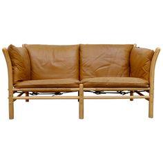 Arne Norell Ilona Leather Sofa, For Sale Settee Sofa, Tufted Sofa, Modern Leather Sofa, Modern Sofa, Vintage Furniture, Home Furniture, Sofa Sale, Scandinavian Modern, Furniture Manufacturers