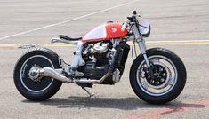 "Honda ""Brokenwing"" by Bandisca Motocross Racer, Cafe Racer Motorcycle, Cx 500, Honda Cx500, Brat Cafe, Bike Builder, Super 4, Flat Tracker, Cafe Racer Build"
