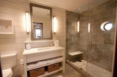 Image result for brown bathroom tile