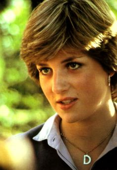 1980 - Lady Di with her iconic hairdo that everyone wanted in the 80s.