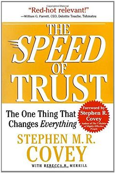 The SPEED of Trust: The One Thing That Changes Everything, http://www.amazon.de/dp/1416549005/ref=cm_sw_r_pi_awdl_x_Ge65xbYENTHPS