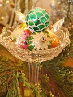 Chateau Chic: Vintage Christmas Ornaments