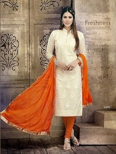 #Indian pakistani #salwar #kameez suit traditional dress materials_12,  View more on the LINK: http://www.zeppy.io/product/gb/2/111890329076/