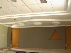 Cielo raso mixto ( icopor y drywall)