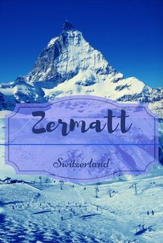 The pyramid shaped mountain of Matterhorn rising over the village of Zermatt at 4478 m has fascinated hikers, skiers, and tourists for more than hundred years. The popular ski resort of Zermatt cradled in the valley of the magnificent Swiss alps is skiers paradise.