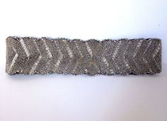 NEW BELT BEADED BLACK SILVER COLOR FAUX LEATHER WIDE WAIST WOMENS SIZE XXS / XS  #Unbranded