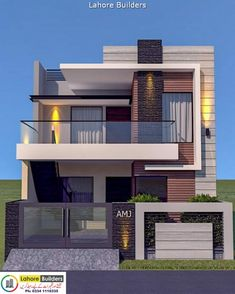 House Outer Design, Modern Small House Design, House Outside Design, Modern Exterior House Designs, Latest House Designs, House Front Design, Minecraft Small Modern House, 3 Storey House Design, Bungalow House Design