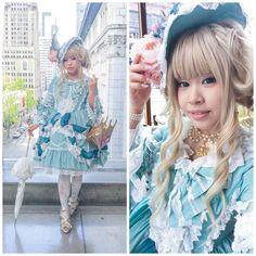 Princess Henrietta's Ballgown Coord Gyaru Fashion, Harajuku Fashion, Lolita Fashion, Asian Fashion, Bright Hair, All Things Cute, Princess Style, Pretty Dresses, Ball Gowns