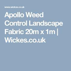 Apollo Weed Control Landscape Fabric - x Decorative Gravel, Organic Mulch, Landscape Fabric, Weed Control, Apollo, Growing Up, Garden, Garten, Lawn And Garden