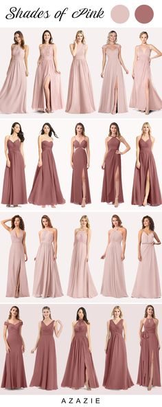 Dec 2019 - Dusty rose is a stylish color that embodies grace and beauty. A classic color by its own right, many brides are making it a popular comeback by complementing it with modern colors. Bridesmaid Dress Colors, Wedding Bridesmaid Dresses, Wedding Attire, Dusty Rose Wedding, Bridesmaids And Groomsmen, The Dress, Wedding Colors, Just In Case, Marie